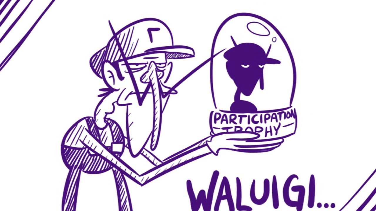 Wa Elegy Waluigis Assist Trophy Song Youtube