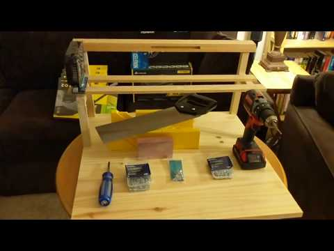 $30 DIY Crypto Mining Rig Frame