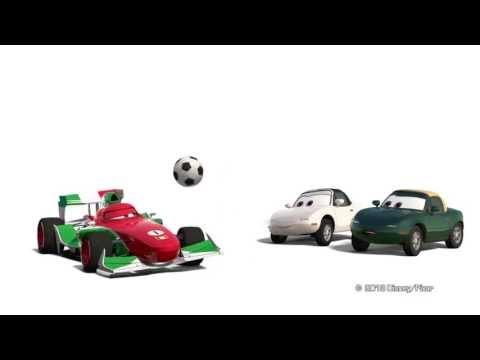 Publicité Oscaro Cars 2 pour l'émission Tout le sport