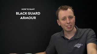 Whtv Tip Of The Day - Black Guard Armour.