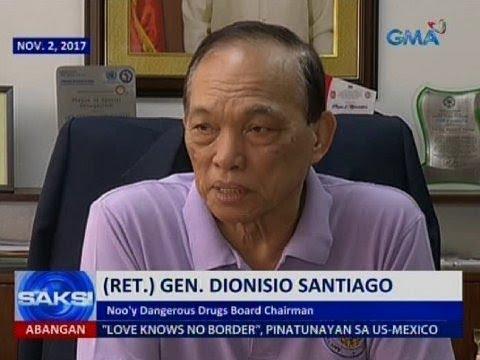 Dionisio Santiago, sinibak bilang DDB chairman dahil sa umano'y mga 'di otorisadong trip abroad