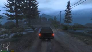 Video Grand Theft Auto V - PS4 Graphics Rain And Thunder HD download MP3, 3GP, MP4, WEBM, AVI, FLV September 2018