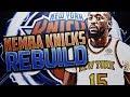 KEMBA WALKER KNICKS REBUILD NBA 2K18
