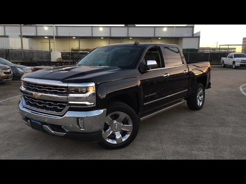 Fully Loaded 2017 Chevrolet Silverado LTZ (6.2L V8 ...