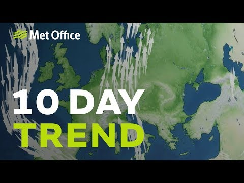 10 Day Trend – Any Sign Of The Weather Patterns Changing? 13/11/19