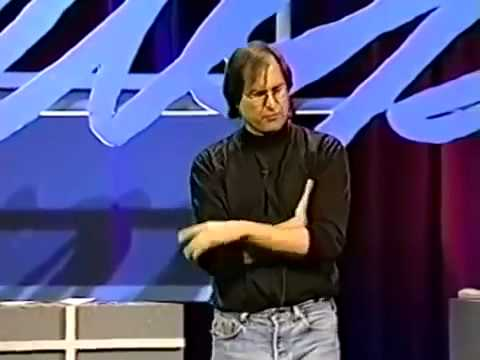 Complete Apple WWDC   Steve Jobs talk and answer developers questions   1997