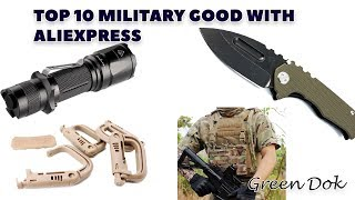 top 10 military goods with aliexpress