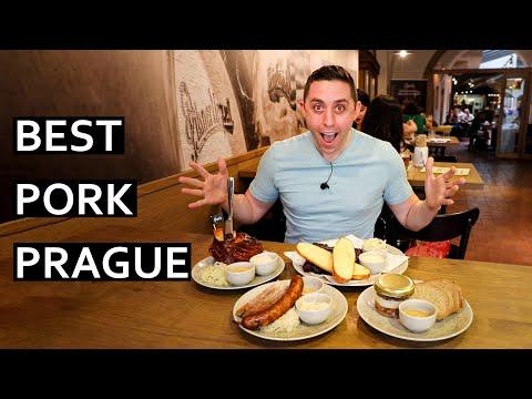 Best Prague Pork Dishes - Best Koleno (Pork Knee Knuckle) in Prague, Czechia!