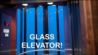A 72 Story Glass Elevator ride at the Westin Peachtree Plaza OTIS ELEVATOR