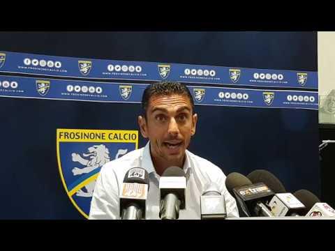 01/09/2017: Pre Frosinone – Cittadella, video conferenza stampa Moreno Longo