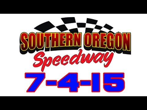 Southern Oregon Speedway Feature 7-4-15
