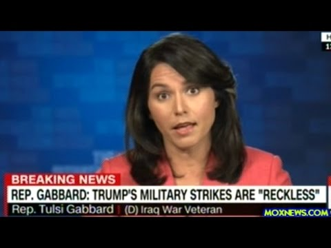 "Congresswoman Tulsi Gabbard ""This War Has Only Strengthened Terrorist Groups Like ISIS!"""