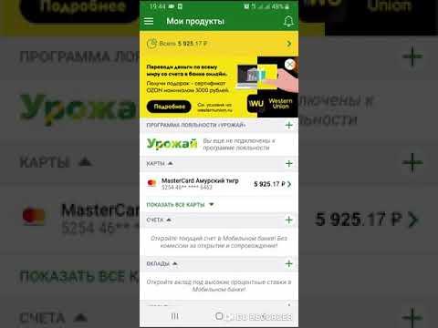 Оплата без процентного займа через мобильное приложение россельхозбанка