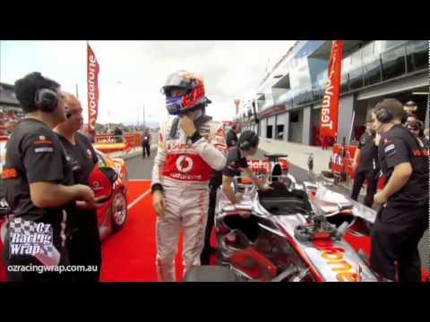 Bathurst Vodafone Driver Swap 2011 Craig Lowndes and Jenson Button HD