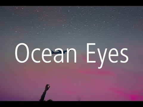 Billie Eilish - Ocean Eyes (Blackbear Remix) (Lyric Video)