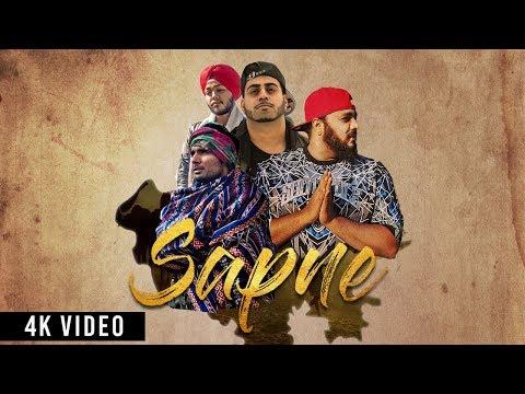 Sapne | Jagirdar RV | Dr Kush | Wazzi Khan | Dev | Desi HipHop Song 2018