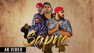 Sapne | Jagirdar RV | Dr Kush | Wazzi Khan | Dev | Desi HipHop Song 2018