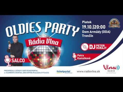 86e2706ab Pozvánka na OLDIES PARTY RÁDIA VLNA - Trenčín - YouTube
