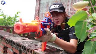 Nerf Guns War : The Men Of SEAL TEAM Special Attack Pursuit Of Criminal Groups