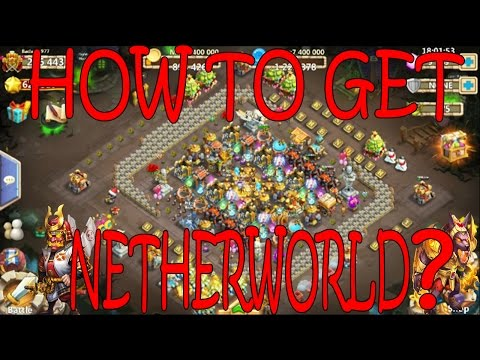 NETHERWORLD BACKGROUND HOW TO GET IT? -CASTLE CLASH