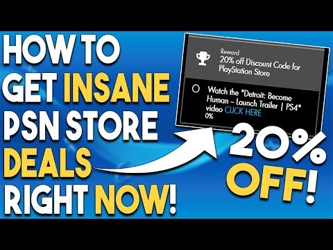How to get INSANE PSN Store Deals RIGHT NOW! GREAT PS4 Physical DEALS!