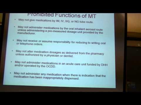 Med Tech Training Week 1 Part 1