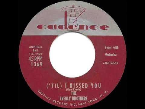 1959 HITS ARCHIVE: Til I Kissed You - Everly Brothers