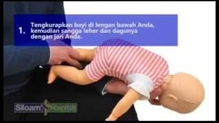 Pertolongan pada Bayi Tersedak