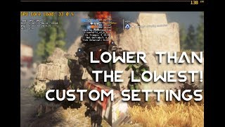 Lower Than the Lowest Settings - Titanfall 2