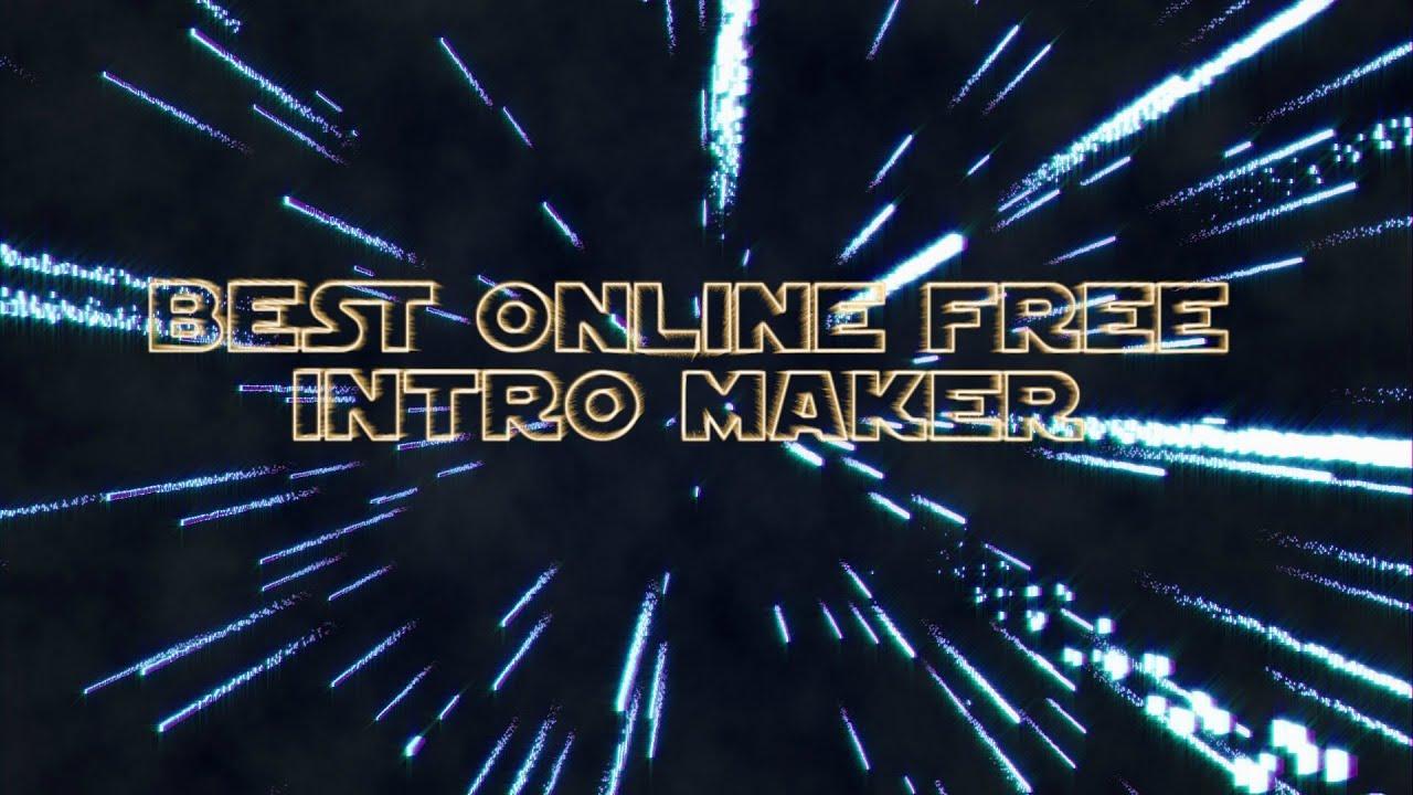 Make intro video online free watch