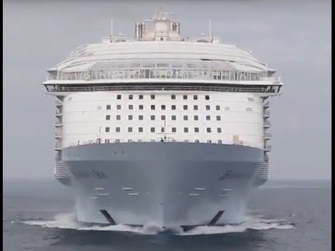 Top 10 Largest Cruise ships in the world 2016, 2017