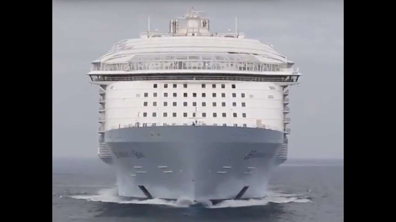Top 10 Largest Cruise ships in the world 2016, 2017 - YouTube