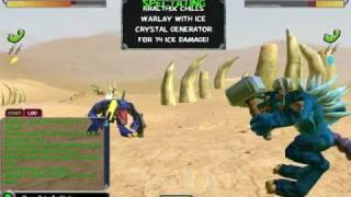 Freaky Creatures Battle Warlay VS. Kralthix