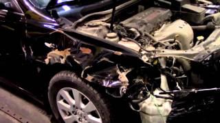 Кузовной ремонт. Тойота Камри, разберемся что к чему. Body repair.(Body repair. Первая часть ремонта Тойота Камри. Будем делать перед. Кузовной ремонт автомобилей в гараже. Подробн..., 2016-03-11T16:46:11.000Z)