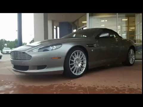 2007 aston martin db8 volant - youtube