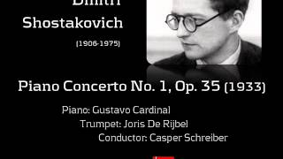 Shostakovich - Concerto for piano, trumpet and strings in c minor, Op. 35 (1933)