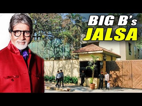 Amitabh Bachchan's Bunglow JALSA - Celebrity Landmark Hotspo