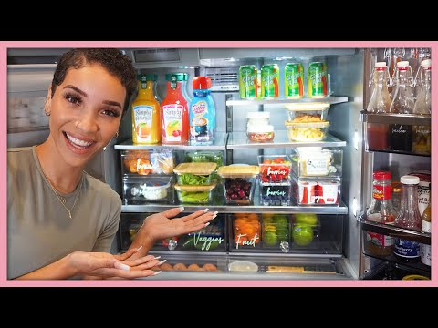 NEWFACE  MAGAZINE  LV MEDIA  FEATURING: It's a Refrigerator Makeover! *Aesthetic Organization*