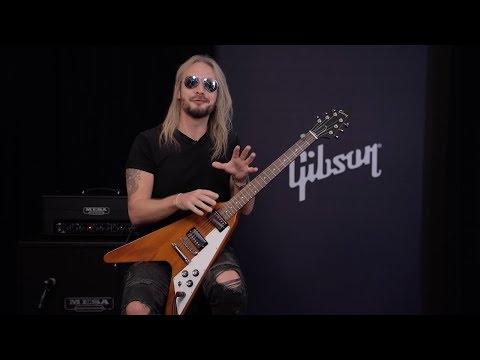Richie Faulkner of Judas Priest Demos The New Flying V
