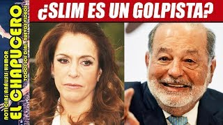 FERNANDA FAMILIAR QUIERE QUE SLIM LIDERE GOLPE DE ESTADO VS AMLO