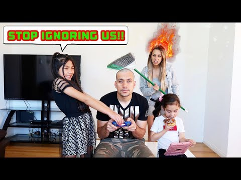 IGNORING FAMILIA DIAMOND For 24 Hours!! *Part 1* | Jancy Family