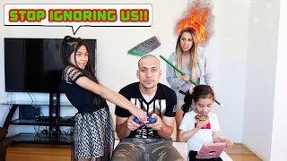 IGNORING FAMILIA DIAMOND For 24 Hours!! *Part 1* | Jancy Family