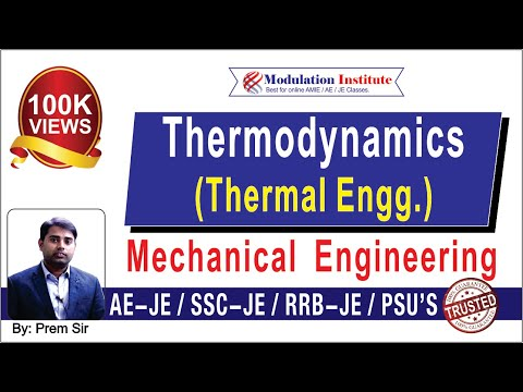 SSC JE Lecture for Mechanical Engineering | Thermal Engg.| Modulation Institute
