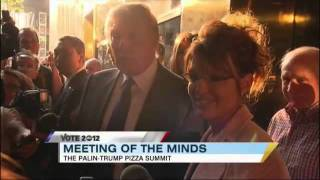 Sarah Palin, Donald Trump Meet in NYC for Pizza