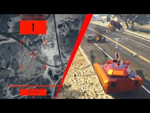 DISPARO DE CAÑÓN ORBITAL Y NUEVO TANQUE MODERNO! GTA V DLC Dia del Juicio Final