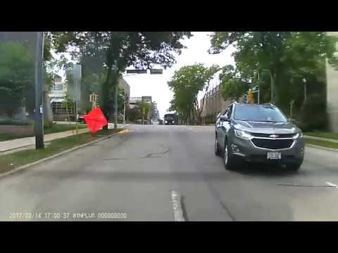 Dual turn lane road rage