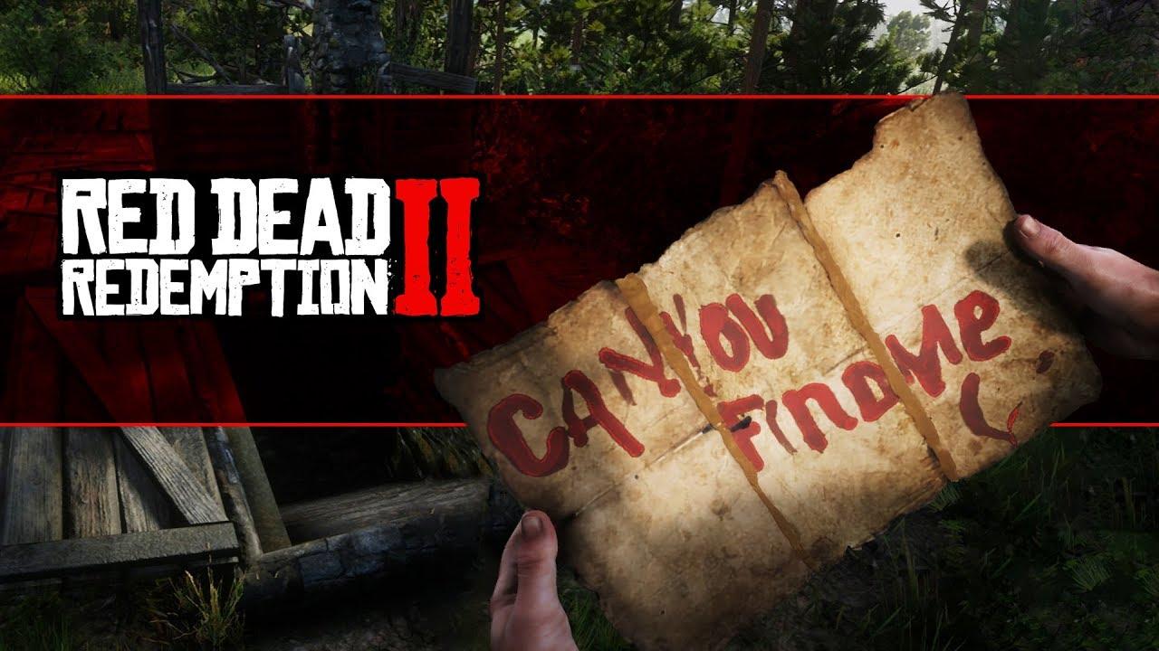 Red Dead Redemption 2 Watsons Blockhutte Karte.Red Dead Redemption 2 Besondere Charaktere In Der Spielwelt