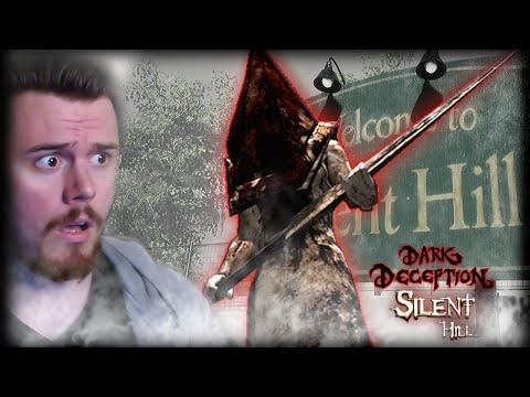 Silent Hill X Dark Deception = BEST CROSS OVER !!  || Dark Deception Silent Hill DLC Gameplay