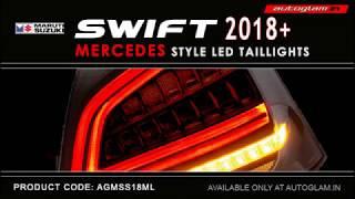 Maruti Suzuki Swift 2018 - New, Merck Style LED Tail Lights, Price, AGMSS18M