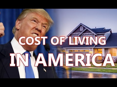 The average cost of living in the united states of america Cost of living in different states in usa
